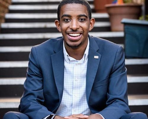 Markus Batchelor, 26, is running for the D.C. Council as an independent. (Courtesy photo)