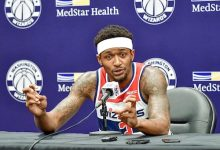 Photo of Wizards' Beal Surprises Four RBHS Students with HBCU Scholarships
