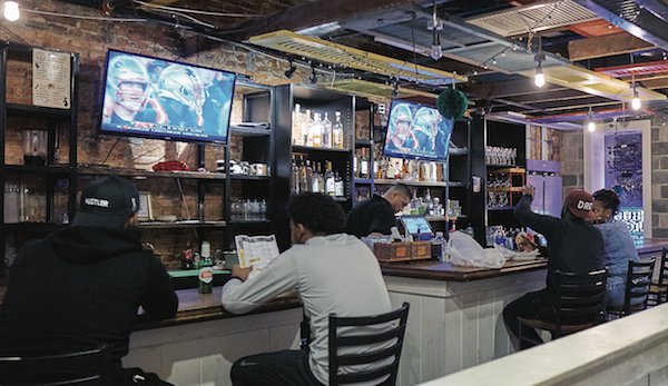 Enjoy the enticing cocktails at the bar at Po Boy Jim at both the H Street NE and 9th Street NW locations. (Photo by Forrest Givens)