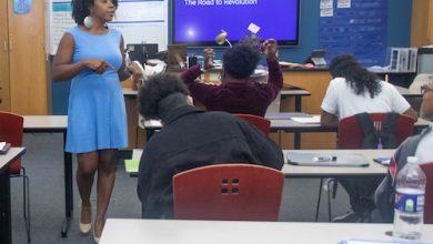 Photo of Award-Winning Teacher Strives to Make History Relevant