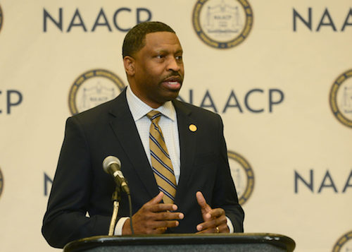 NAACP President/CEO Derrick Johnson (Courtesy of naacp.org)