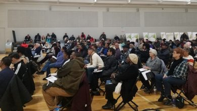 Photo of Residents View Proposed Prince George's Zoning Maps