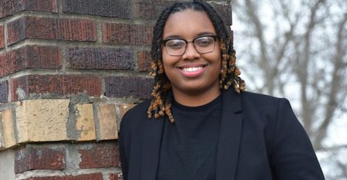 Jade Allen, a 2018-19 Ossie Davis Legacy Scholarship recipient (Courtesy of uncf.org)