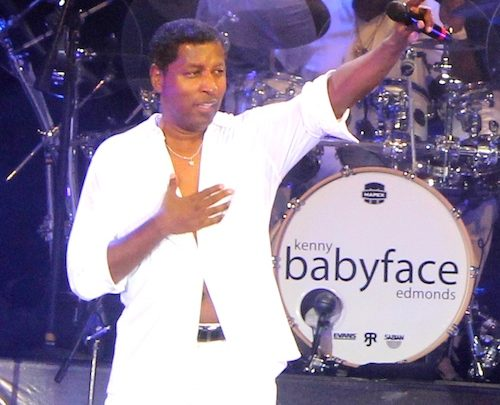 Babyface and his band offered a dynamic entertainment package at Center Stage at Live Casino in Hanover, Md. (Photo by Timothy Cox)
