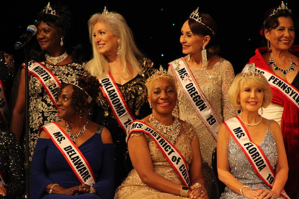 Ms. Senior D.C. Trinette Chase was one of 41 contestants who competed in the 2019 Ms. Senior America Pageant.
