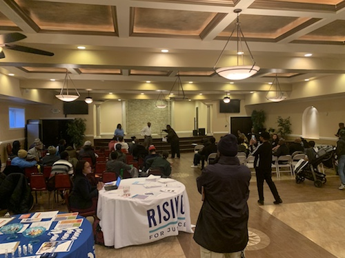 The First Seventh Day Adventist Church in northwest D.C. hosts a homecoming celebration and dinner for returning citizens on Nov. 24. (Courtesy of Stuart Anderson)