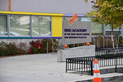 RISE Academy - Ruth Rales Campus in Southeast (Anthony Tilghman/The Washington Informer)