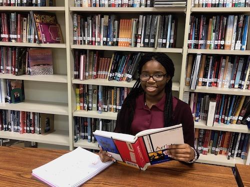 Scholar of the Week Alexi Okie dreams of attending Yale University, Harvard University or Spelman College. (PGCPS photo)