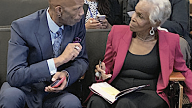 Photo of Dorothy Butler Gilliam, Pioneer in Journalism, Passes the Baton Forward