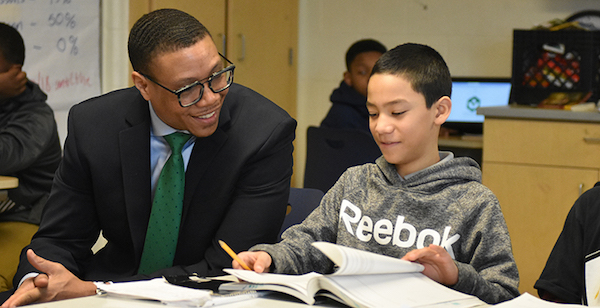 DCPS Chancellor Lewis Ferebee recently announced the launch of the Student Guide to Graduation, Career and College, which provides students with personalized information about their path to graduation. (Courtesy of the74million.org)