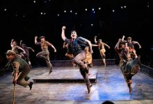 """The cast of Disney's """"Newsies,"""" running through Dec. 22 at Arena Stage at the Mead Center for American Theater (Courtesy of Margot Schulman)"""