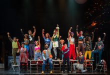 """The company of the """"Rent"""" 20th anniversary tour at The National Theatre in D.C. on Nov. 12 (Courtesy of Amy Boyle)"""