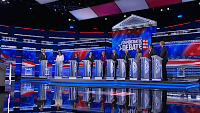 Photo of First-of-Its-Kind Scoreboard Ranks Presidential Candidates