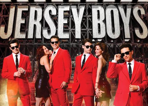 """The cast of """"Jersey Boys"""" (Courtesy of National Theatre)"""