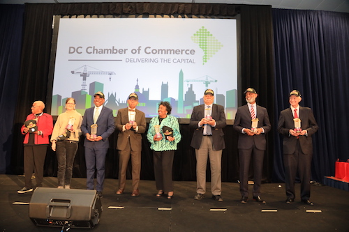 D.C. Chamber of Commerce honors community leaders. (Courtesy of D.C. Chamber of Commerce)