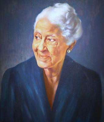 Mary Church Terrell, 1946, Oil on canvas by Betsy Graves Reyneau