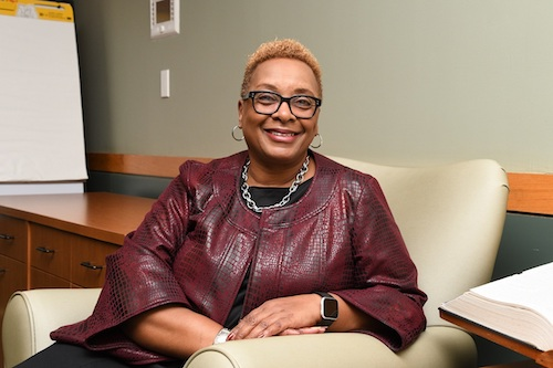 After nearly 25 years working for Prince George's Community College, Charlene Dukes will retire in June with an average student enrollment of 40,000 per year. (Anthony Tilghman/The Washington Informer)