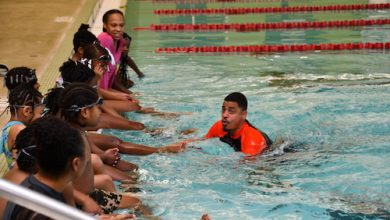 Photo of Third Graders Learn How to Swim