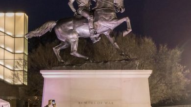 Photo of Artist's Statue of Black Man Graces Former Capital of Confederacy