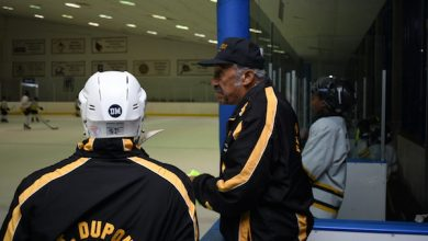 Photo of D.C.'s Legendary Coach Neal Henderson: Teaching Hockey and Black History