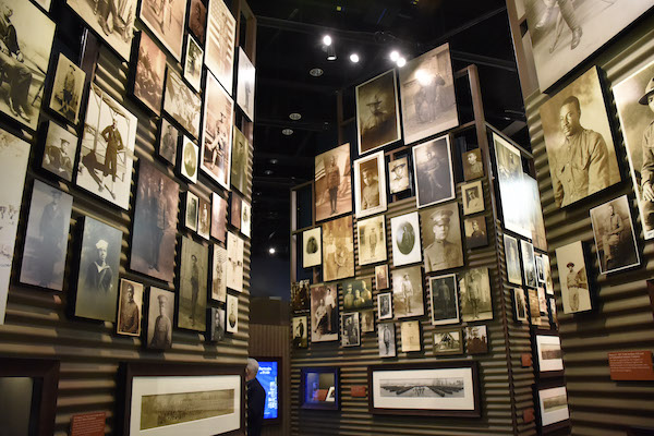 """D.C. civil rights activist Mary Church Terrell has a prominent place in the """"We Return Fighting: The African American Experience in World War I"""" exhibit at the National Museum of African American History and Culture. (Rob Roberts/The Washington Informer)"""