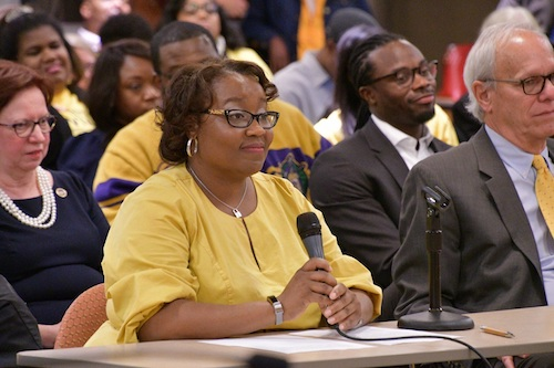 Del. Nicole A. Williams is one of 27 Black women in the Maryland state legislature, the second-highest total in the nation. (Anthony Tilghman/The Washington Informer)