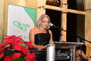 Dr. Kimberly Jeffries Leonard, national president of The Links, Incorporated (Courtesy of Alicia Adams)