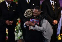 Photo of Ulysses Currie, 'Dean of Senators,' Laid to Rest