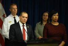 Photo of Bowser, Homeland Security Brass Urge D.C. Residents' Acuity