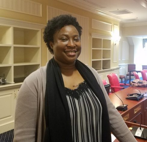 Eberechukwu Onukwugha, an associate professor at the University of Maryland School of Pharmacy in Baltimore, will be one of five members serving on the state's new Prescription Drug Affordability Board. (William J. Ford/The Washington Informer)