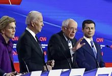 Photo of Democrats Tackle Foreign Policy, Health Care and Impeachment in Iowa Debate
