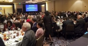 The Maryland Democratic Party hosts its annual legislative luncheon at the Westin Hotel in Annapolis on Jan. 7. (William J. Ford/The Washington Informer)