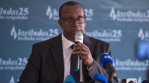 Jean Damascène Bizimana, Executive Secretary of the National Commission for the Fight against Genocide (CNLG)