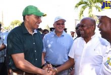 Photo of Jamaican PM Leads Dengue Cleanup Efforts