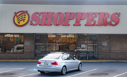 The Shoppers grocery store in Bladensburg, Md., along with 13 other store locations in the D.C.-Baltimore region, has been sold. (Shevry Lassiter/The Washington Informer)