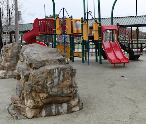 The D.C. Department of General Services will review the lead levels on the playground at Parkview Recreation Cener. (Roy Lewis/The Washington Informer)