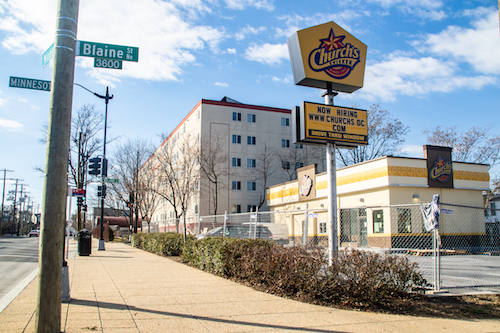 The second location of Church's Chicken in D.C. will be at 3780 Minnesota Avenue NE. (Shevry Lassiter/The Washington Informer)