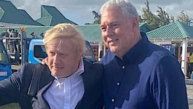 Photo of British PM Brings in New Year in Mustique