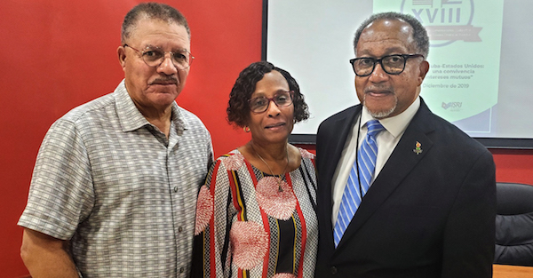 From left: Dean DeWayne Wickman of Morgan State University, Dr. Tony Draper, publisher of The Afro, and Dr. Benjamin F. Chavis Jr., president and CEO of the National Newspaper Publishers Association (Courtesy of NNPA Newswire)
