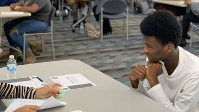 Photo of D.C. EDUCATION BRIEFS: Mock Interviews at Anacostia High