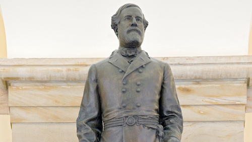 A statue of Confederate Gen. Robert E. Lee currently sits in the U.S. Capitol. (Courtesy of aoc.gov)