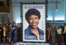 Photo of Celebrated Journalist Gwen Ifill Honored with Black Heritage Stamp