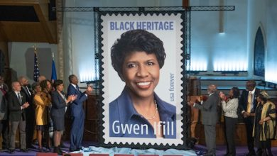 The Gwen Ifill Forever Stamp was unveiled at Metropolitan AME Church in D.C. on Jan. 30. (Shevry Lassiter/The Washington Informer)