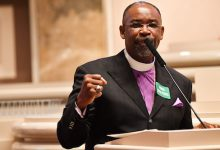 Photo of Black Clergy Mobilizing Members as Primaries Move South