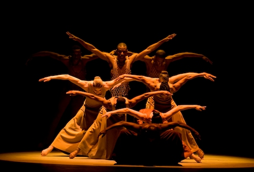 AAADT in Alvin Ailey's Revelations. (Courtesy photo/Nan Melville)