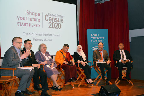 A panel of clergy leaders discuss strategies to increase US Census participation. (Courtesy photo)