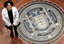 Photo of African-American Woman Goes from Homelessness to Yale Medical School