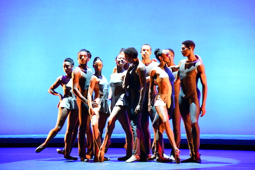 The Dance Theatre of Harlem performs at the Center for Performing Arts at Prince George's Community College in Largo, Maryland, on Feb. 1. (Anthony Tilghman/The Washington Informer)
