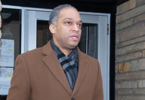 Ward 4 Councilman Brandon Todd (Shevry Lassiter/The Washington Informer)
