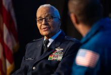 Photo of NASA Honors Tuskegee Airman Charles McGee
